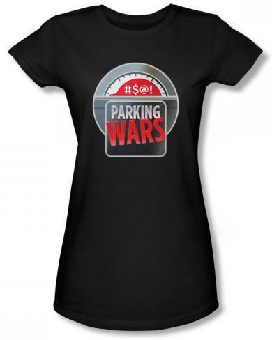 Juniors: Parking Wars - Parking Wars Logo T-Shirt