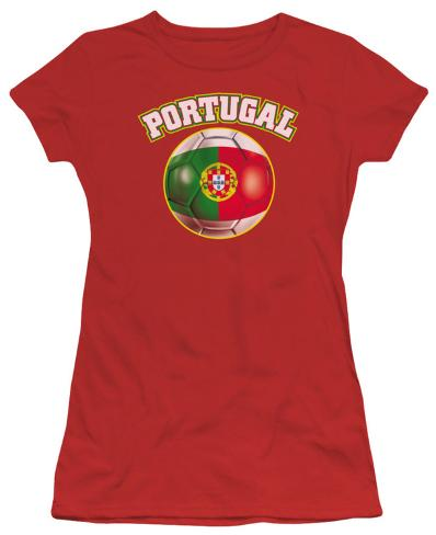 Juniors: Portugal Womens T-Shirts