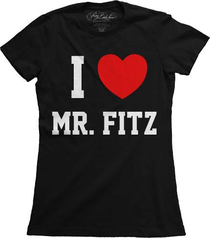Juniors: Pretty Little Liars - I Heart Mr. Fritz T-Shirt