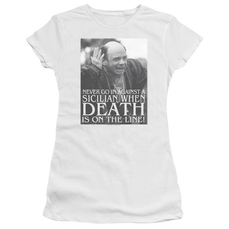 Juniors: Princess Bride- Sicilian Womens T-Shirts