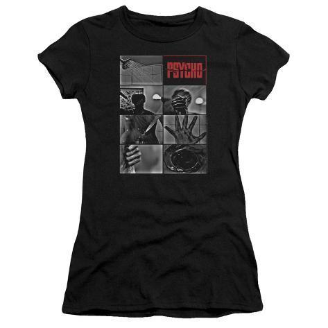 Juniors: Psycho - Shower Scene Womens T-Shirts