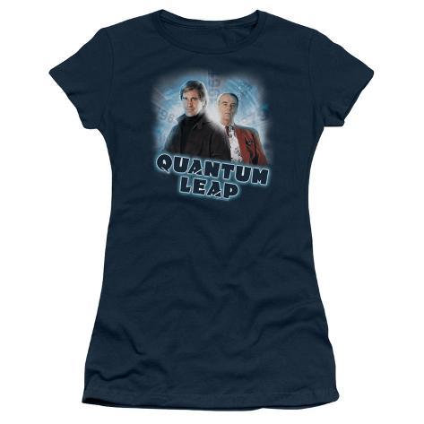 Juniors: Quantum Leap-Sam & Al Womens T-Shirts