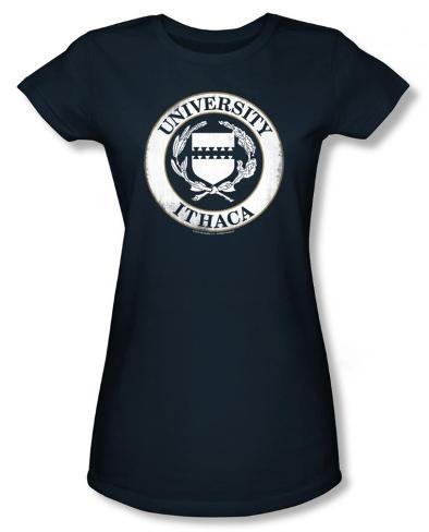 Juniors: Road Trip - University of Ithaca T-Shirt