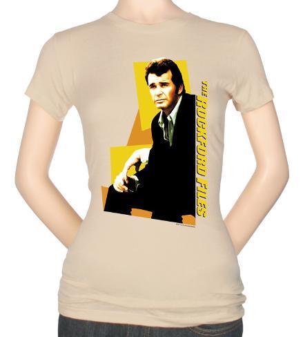 Juniors: Rockford Files-Jim Rockford T-Shirt