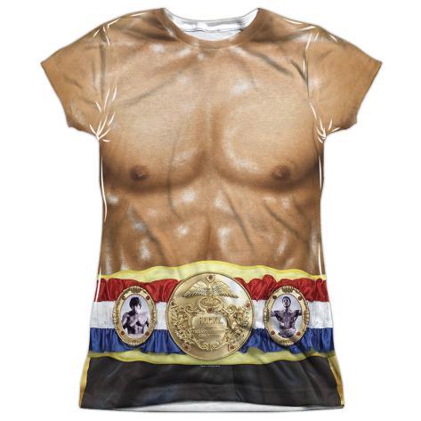 Juniors: Rocky- Italian Stalion Costume Tee Womens Sublimated