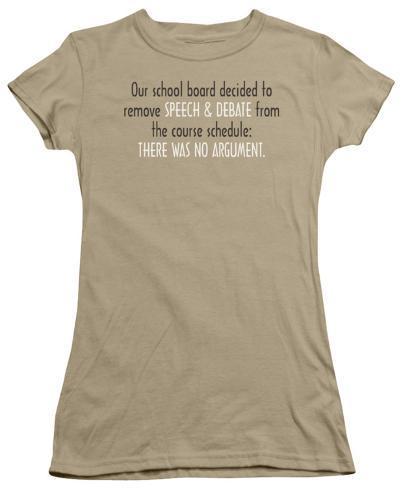 Juniors: Speech & Debate Juniors (Slim) T-Shirt