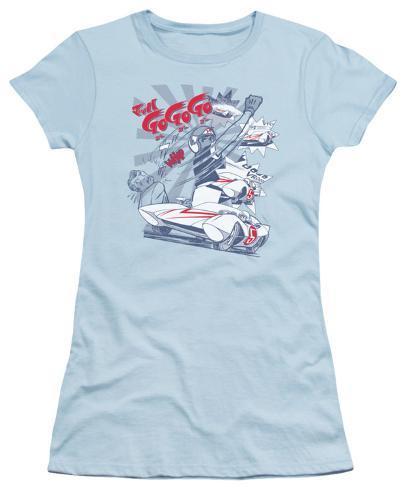 Juniors: Speed Racer-Gogogo Whap Juniors (Slim) T-Shirt