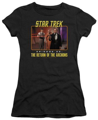 Juniors: Star Trek-Episode 22 Womens T-Shirts