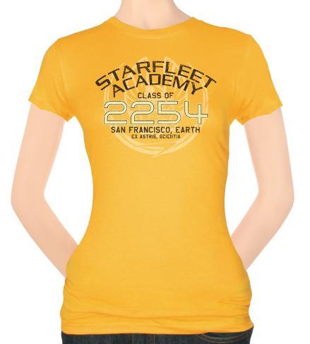 Juniors: Star Trek-Kirk Graduation T-Shirt