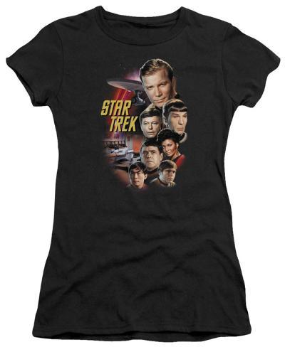 Juniors: Star Trek - The Classic Crew Womens T-Shirts