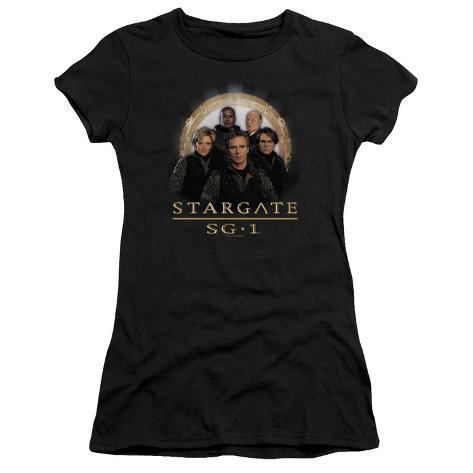 Juniors: Stargate1-Sg1 Team Womens T-Shirts