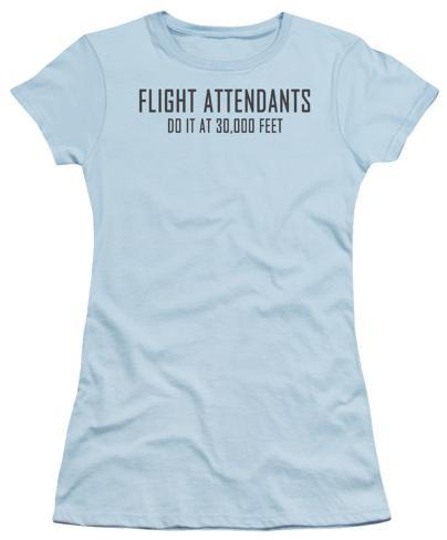 Juniors: Stewardesses Do It Juniors (Slim) T-Shirt