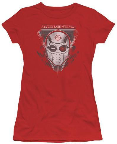 Juniors: Suicide Squad- Deadshot I Am The Way Womens T-Shirts