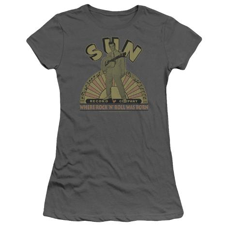 Juniors: Sun Records-Original Son Womens T-Shirts