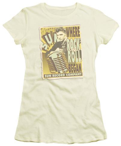 Juniors: Sun Studios - Rock -N- Roll Poster Womens T-Shirts