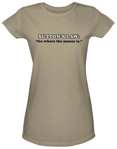 Juniors: Sutton's Law Juniors (Slim) T-Shirt