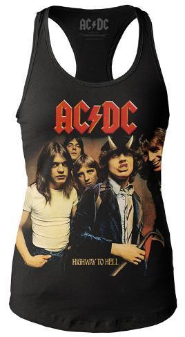 Camisetas Tank De es Allposters Top Juniors Highway Tirantes Hell Acdc To En Cover Para Mujer FUCxf