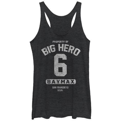 Juniors Tank Top: Big Hero 6- Property Of Baymax Womens Tank Tops