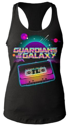 e29ebb16a Juniors Tank Top  Guardians Of The Galaxy- Awesome Mix Tape Regatas  femininas