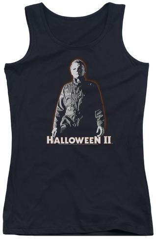 Juniors Tank Top: Halloween II - Michael Myers Womens Tank Tops