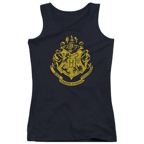 Juniors Tank Top: Harry Potter- Hogwarts Crest Womens Tank Tops
