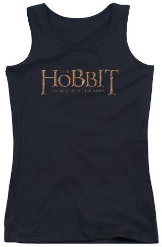 Juniors Tank Top: Hobbit - Logo Womens Tank Tops