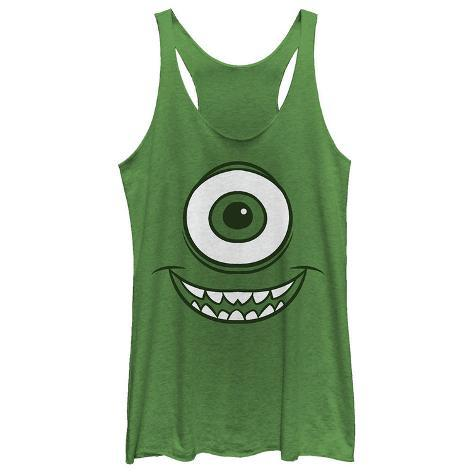 Juniors Tank Top: Monsters University- Smiley Mikey Womens Tank Tops