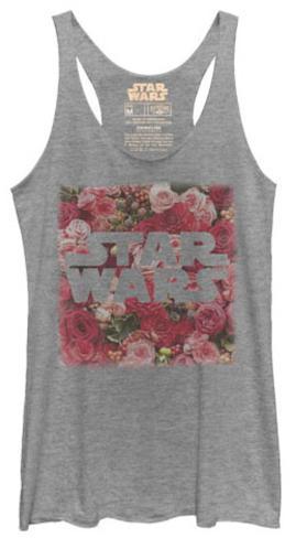 Juniors Tank Top: Star Wars- Rosey Logo Womens Tank Tops