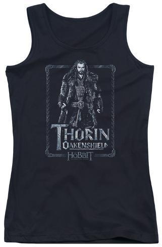 Juniors Tank Top: The Hobbit - Thorin Stare Womens Tank Tops