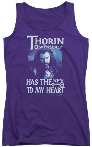 Juniors Tank Top: The Hobbit - Thorins Key Womens Tank Tops
