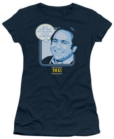 Juniors: Taxi - Shut Your Trap Womens T-Shirts