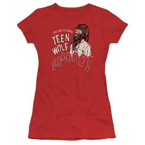 Juniors: Teen Wolf- Animal Call Womens T-Shirts
