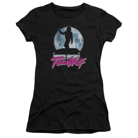 Juniors: Teen Wolf- Moonlight Surf Womens T-Shirts