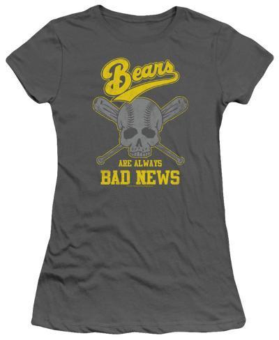 Juniors: The Bad News Bears - Always Bad News Womens T-Shirts