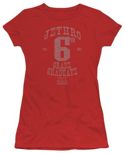 Juniors: The Beverly Hillbillies - Mr Sixth Grade Graduate Womens T-Shirts