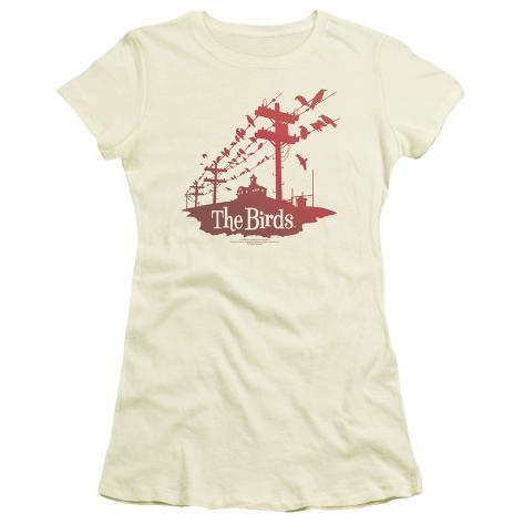 Juniors: The Birds - Birds on a Wire Womens T-Shirts