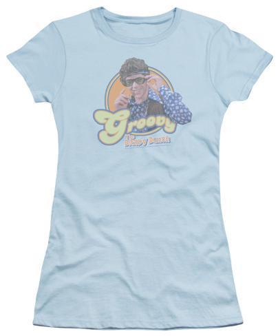 Juniors: The Brady Bunch - Groovy Greg Womens T-Shirts