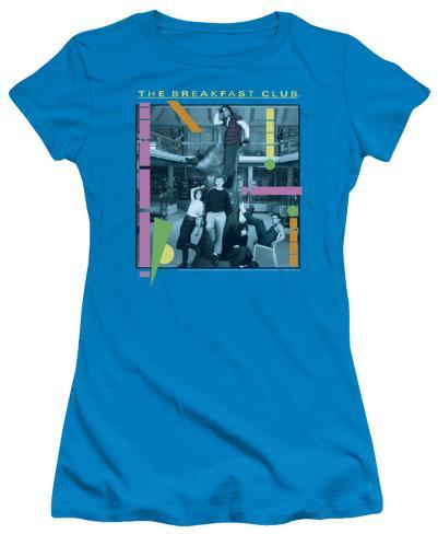 Juniors: The Breakfast Club - Tree Womens T-Shirts