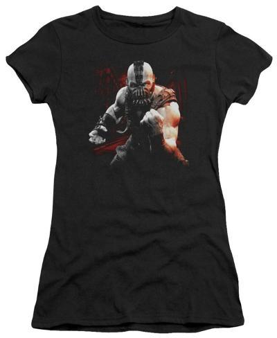 Juniors: The Dark Knight Rises - Bane Battleground Juniors (Slim) T-Shirt
