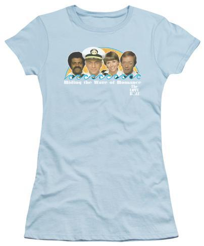 Juniors: The Love Boat - Wave of Romance Womens T-Shirts
