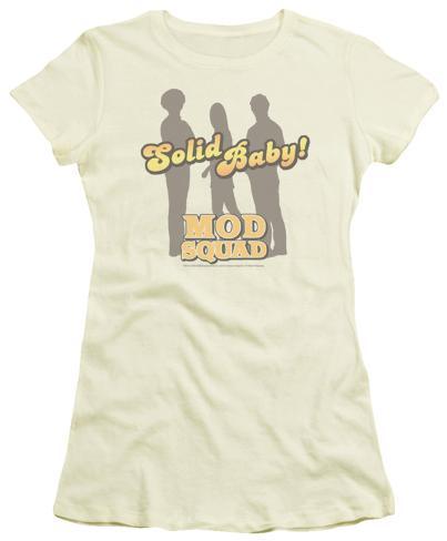Juniors: The Mod Squad - Solid Mod Womens T-Shirts