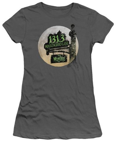 Juniors: The Munsters-Moonlit Address Womens T-Shirts