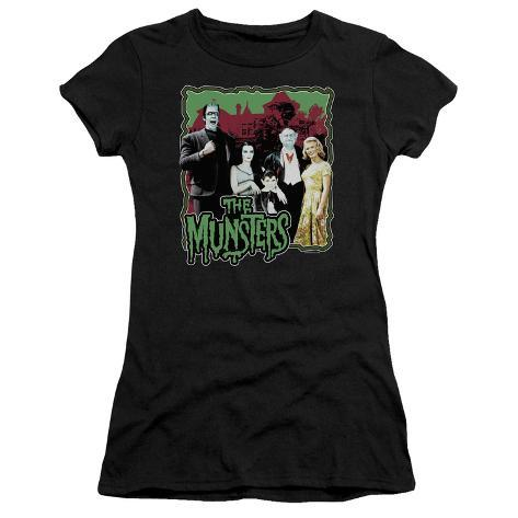 Juniors: The Munsters-Normal Family Womens T-Shirts