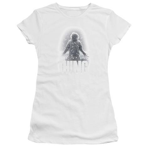 Juniors: The Thing - Snow Thing Womens T-Shirts