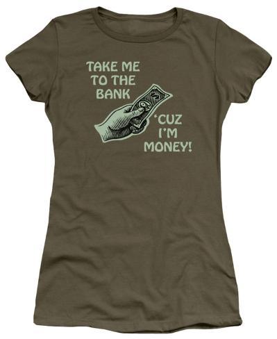 Juniors: To the Bank Juniors (Slim) T-Shirt