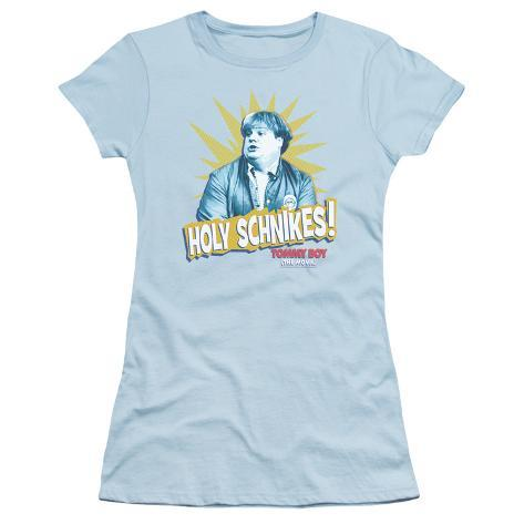 Juniors: Tommy Boy - Holy Schikes Womens T-Shirts
