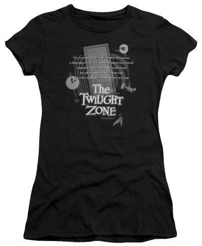 Juniors: Twilight Zone - Monologue Womens T-Shirts