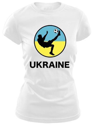 Juniors: Ukraine Soccer T-Shirt