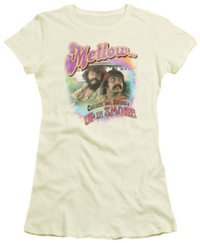 Juniors: Up In Smoke - Mellow Womens T-Shirts