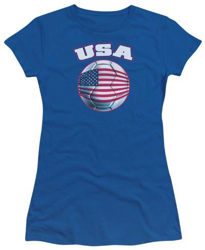 Juniors: USA Womens T-Shirts
